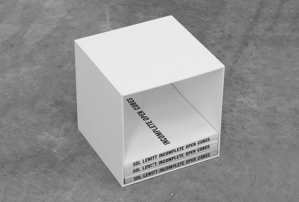 Yann Sérandour, Incomplete Open Cubes